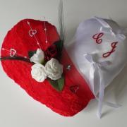 coussin alliance rouge romantique amour (26)