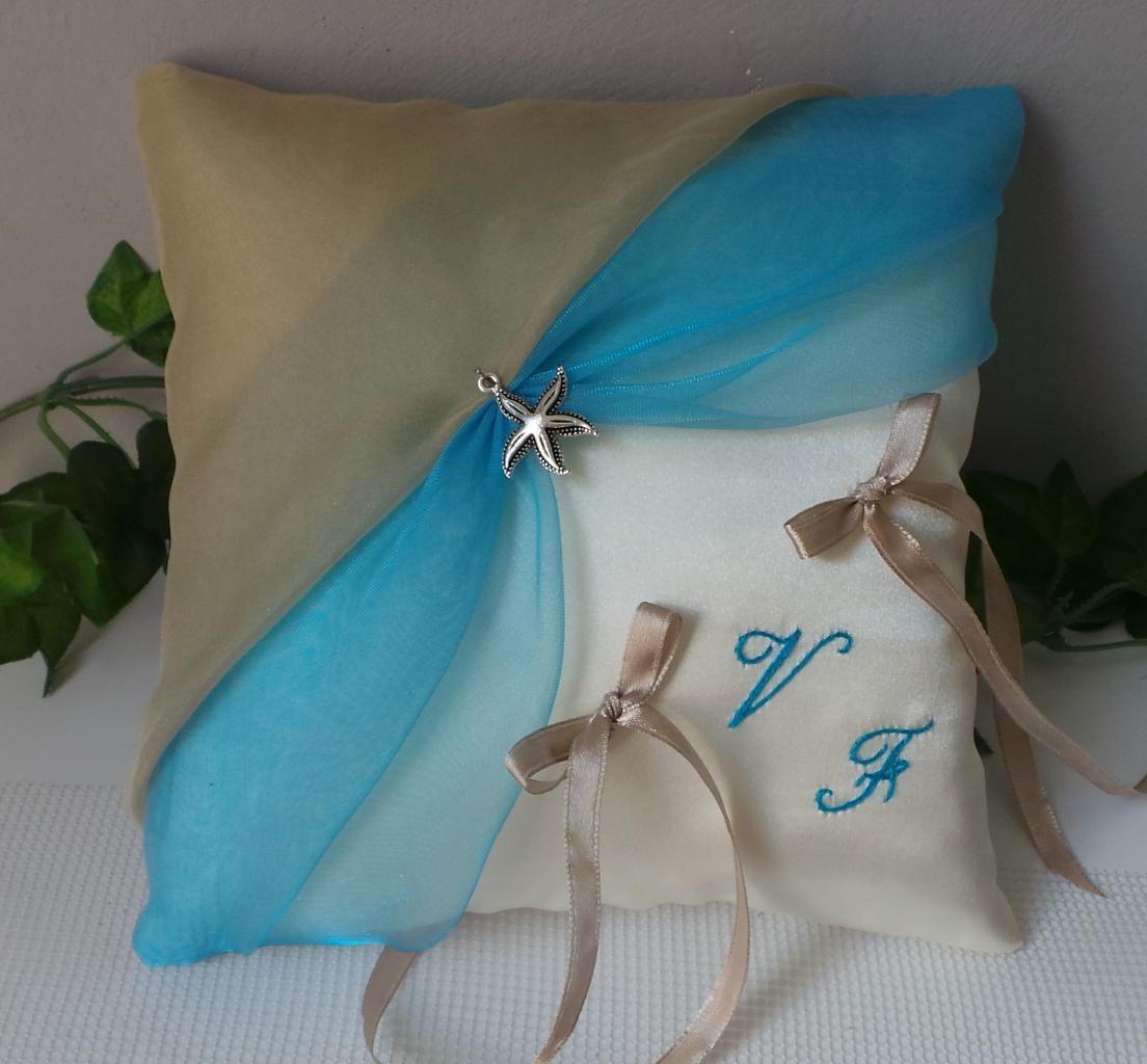 coussin alliances bleu turquoise beige(1)