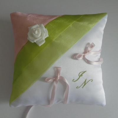 coussin alliances vert anis rose (13)
