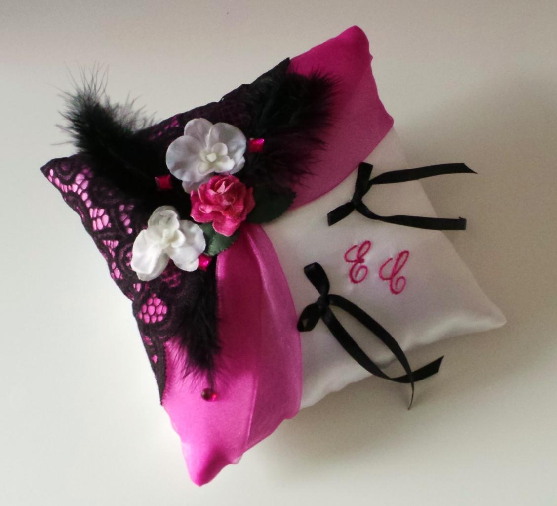 coussin mariage rose (33)