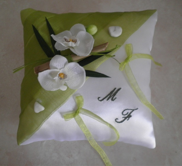 coussin alliance orchidee #2