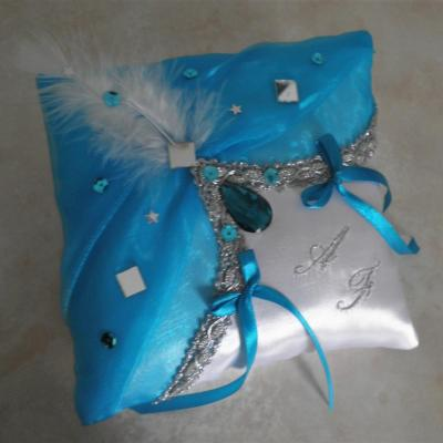 Coussin alliance mariage 409