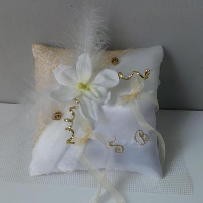 Coussin alliance mariage 5