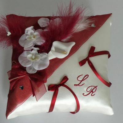 Coussin alliance mariage 67