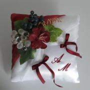 Coussin alliance mariage 70