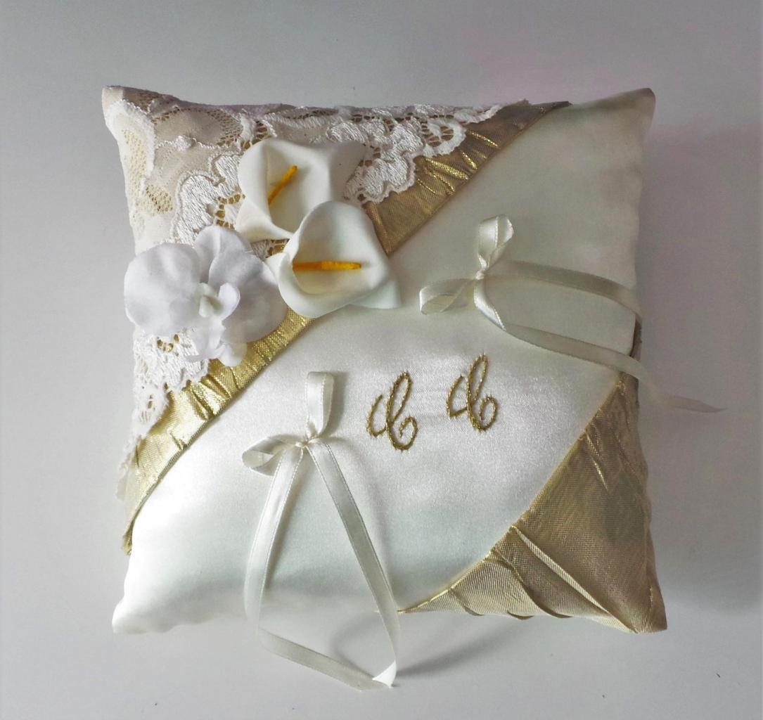 Coussin alliance mariage 897