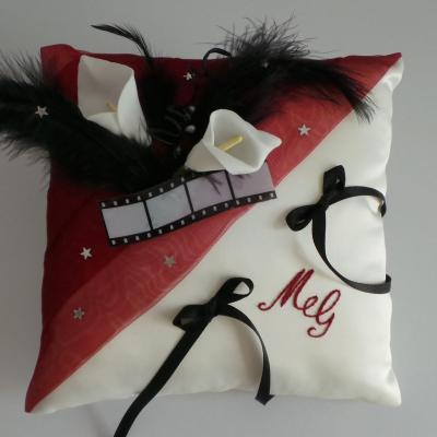 Coussin alliance mariage 97