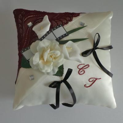 Coussin alliance mariage 99