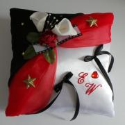 Coussin alliance rouge 47