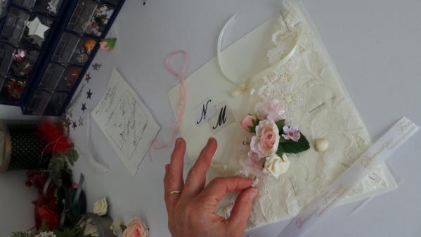 Creation & decoration d un coussin
