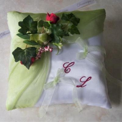 Zzalin carole la nature blanc vert touche rou 1