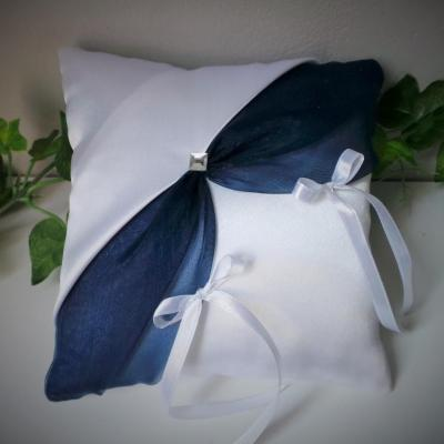 Coussin alliances chic mariage (3)