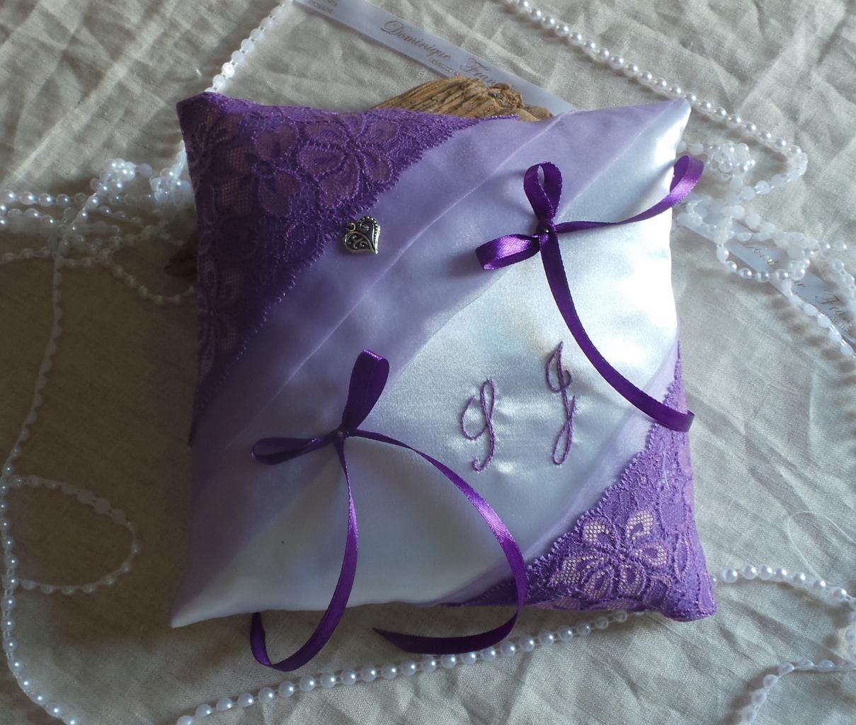 coussin alliances chic parme violet (2)