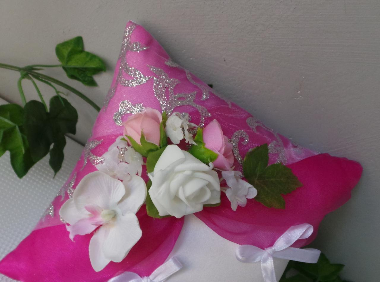 coussin mariage rose (4)