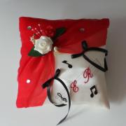 Coussin alliance mariage 293