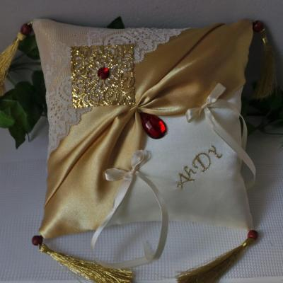 Coussin alliance mariage 338