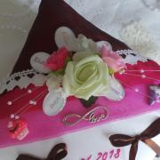 Coussin alliances gourmandise chocolat fuchsi 3