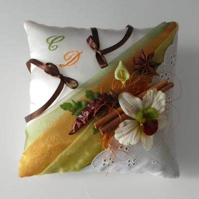 Coussin mariage epices guadeloupe martinique