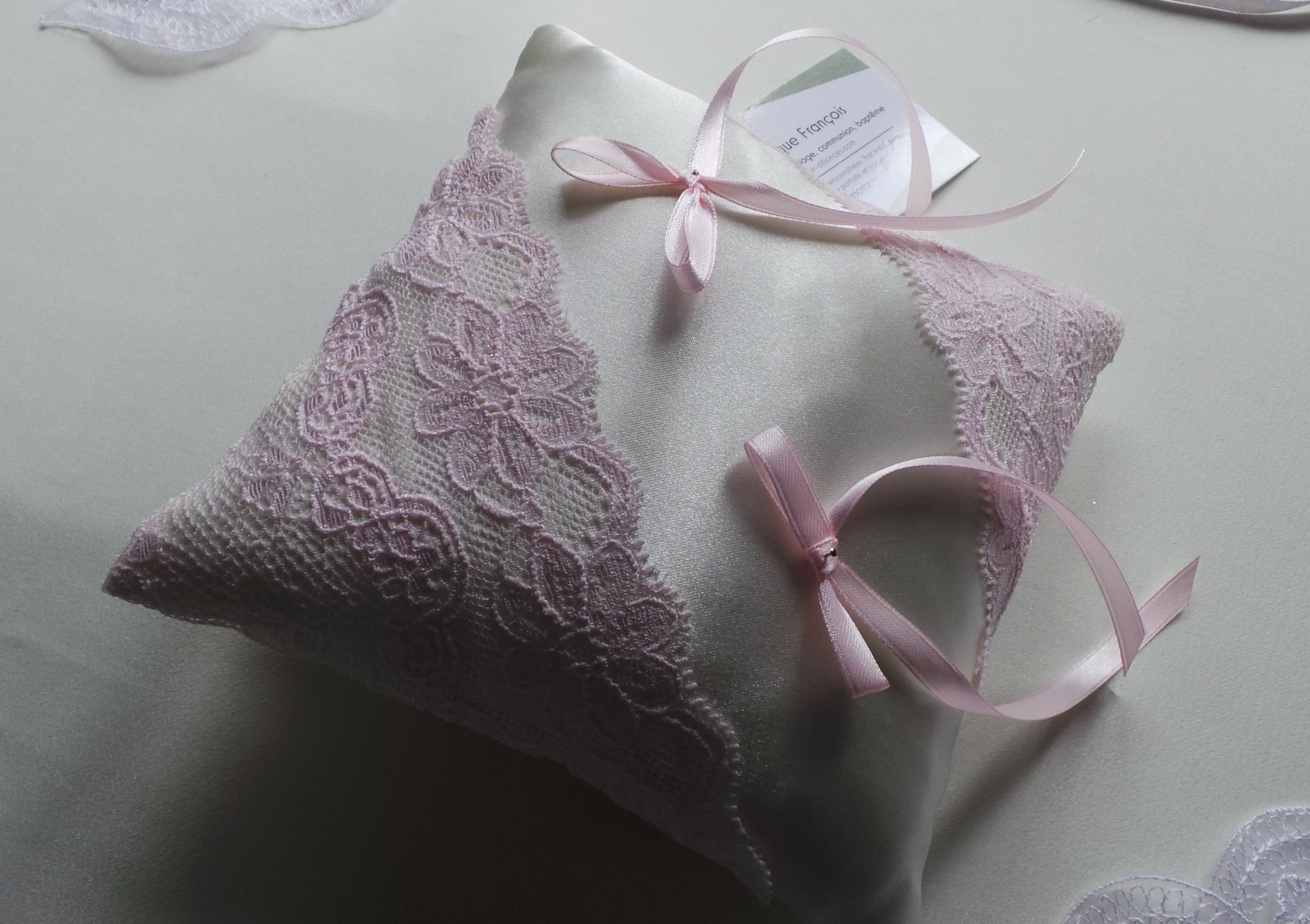 Decoration mariage rose pale poudre 2